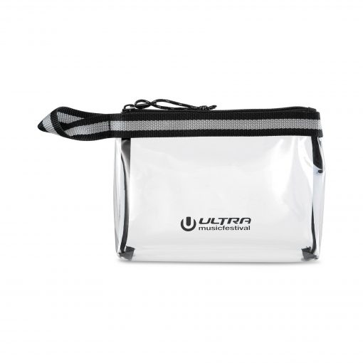 Sigma Clear Zippered Pouch - Clear