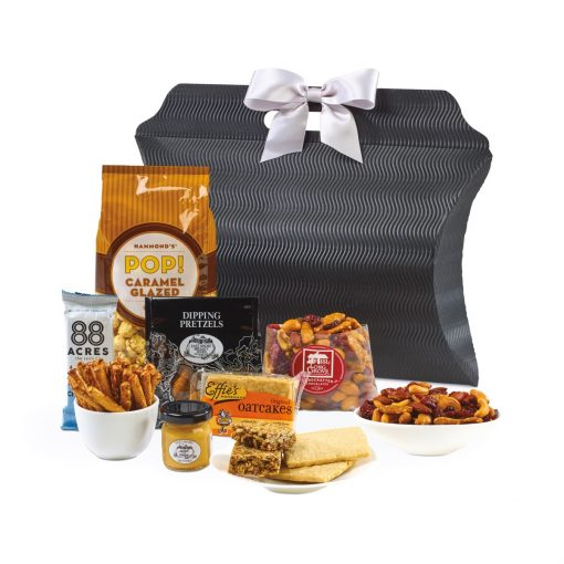 Time for a Snack-cation Gift Tote - Black