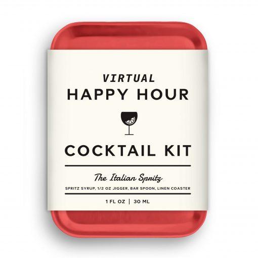 W&P Virtual Happy Hour Cocktail Kit - Italian Spritz - Red