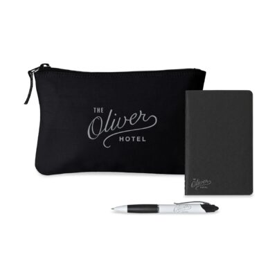 Notes On-the-Go Gift Set - Black