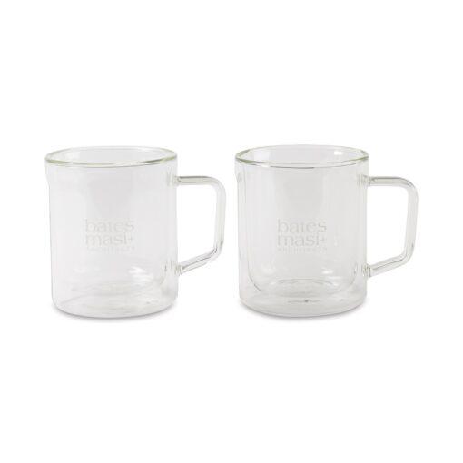 CORKCICLE® Mug Glass Set (2) - Clear