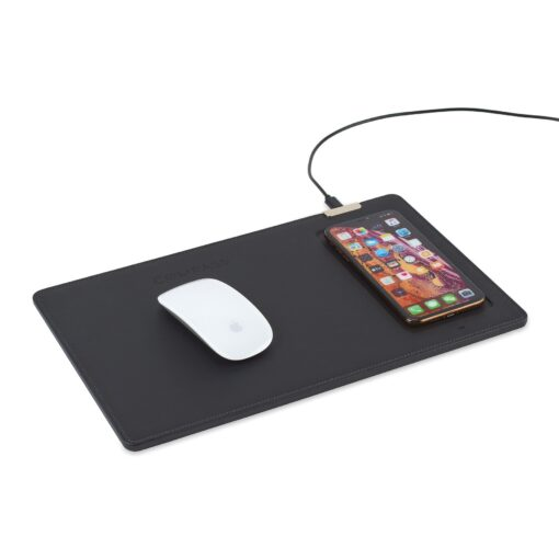 Easton Wireless Charging Mouse Pad - Black