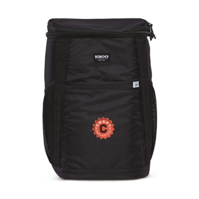 Igloo® REPREVE 36 Can Backpack Cooler - Black