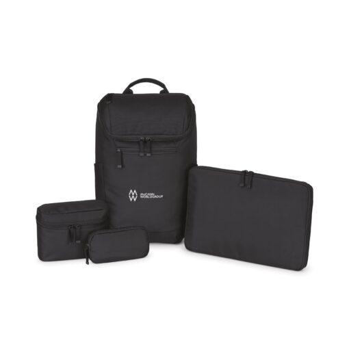 Mobile Professional Computer Backpack - Black