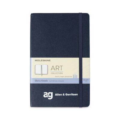 Moleskine® Hard Cover Large Sketchbook - Sapphire Blue