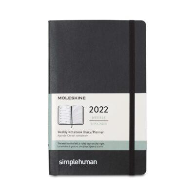 Moleskine® Soft Cover Large 12-Month Weekly 2022 Planner - Black
