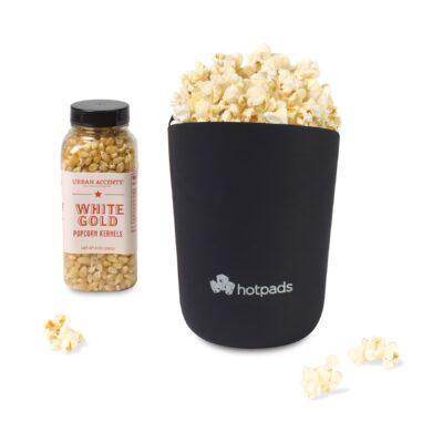 Pop Star Premium Popcorn Gift Set - Black