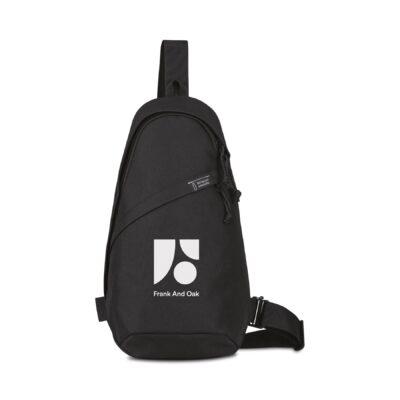 Renew rPET Sling Bag - Black
