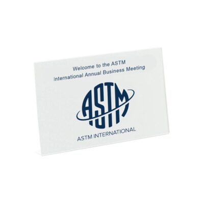 Small Greeting Card - White