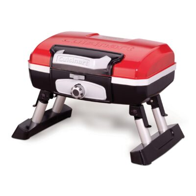 Cuisinart® Petite Gourmet Portable Gas Grill - Red