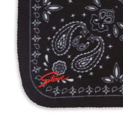 Slowtide Fleece Blanket - Paisley Park - Black