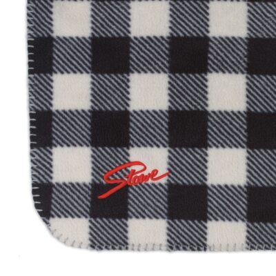 Slowtide Fleece Blanket - Yukon-White
