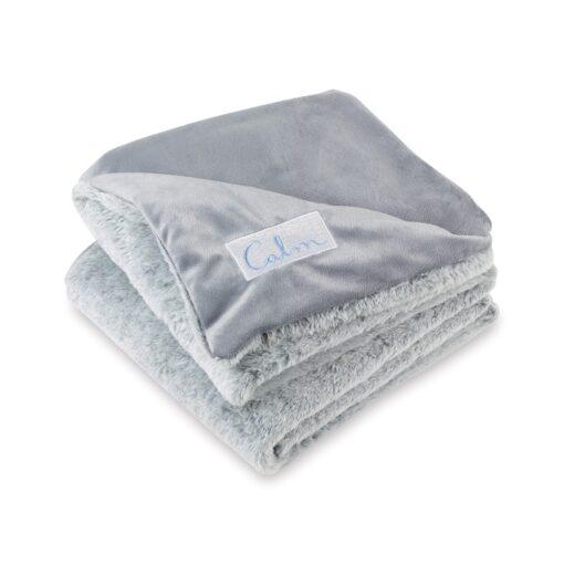 Luxe Faux Fur Throw Blanket - Grey