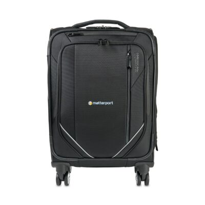 """American Tourister® Zoom Turbo 20"""" Spinner Carry-On - Black"""