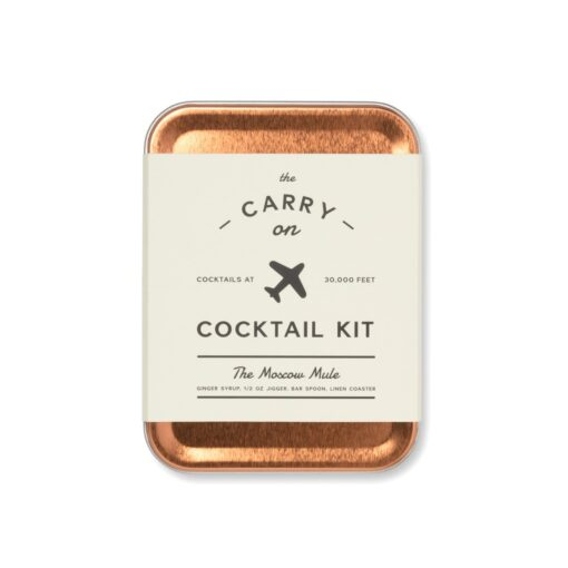 W&P Moscow Mule Craft Cocktail Kit - Copper